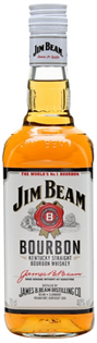 Jim Beam Bourbon White Label 750ml